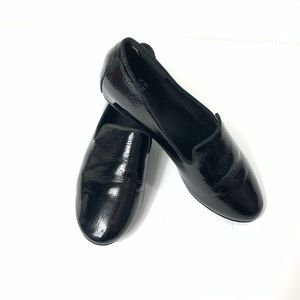 Eileen Fisher Hidden Wedge Flats Patent Leather